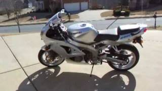 4. 2006 Kawasaki Ninja ZZR600 for sale only 571miles