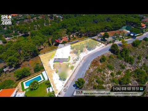 Земельный участок в Испании с панорамными видами на море/Недвижимость в Испании/Земля в Бенидорме