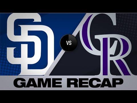 Video: Murphy, Arenado power Rockies past Padres   Padres-Rockies Game Highlights 9/14/19