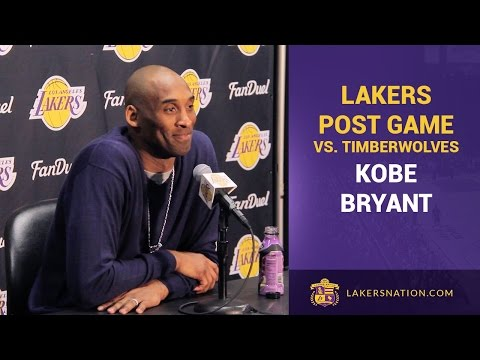 Video: Kobe Bryant Thanks Sam Mitchell For The Hate, Advice For Younger Players