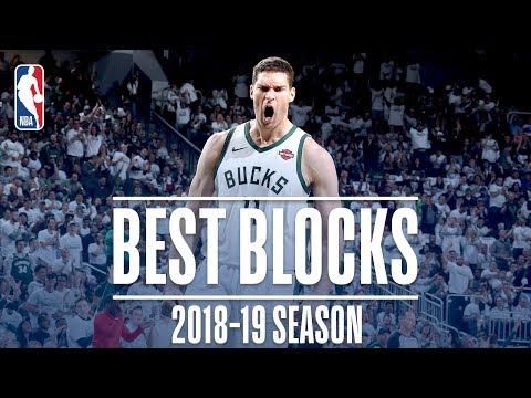Video: Brook Lopez's Best Blocks   2018-19 Season   #NBABlockWeek