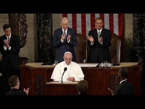 ΗΠΑ: Ο Πάπας Φραγίσκος έγραψε ιστορία – Η πρώτη ομιλία ποντίφικα στο Κογκρέσο