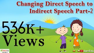 Changing Direct Speech To Indirect Speech - Part 2