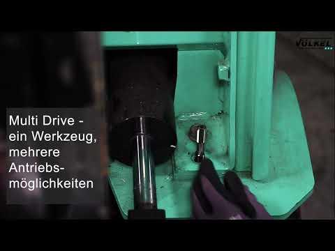VÖLKEL HexTap - Doppelseitige Gewindebohrer + Schneideisen 22-tlg. Satz M 3 – M 20 Video