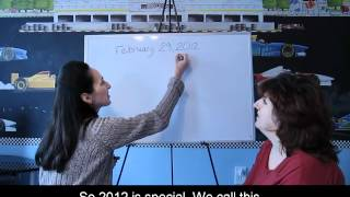 Lesson 38 - Leap Year - Learn English With Jennifer