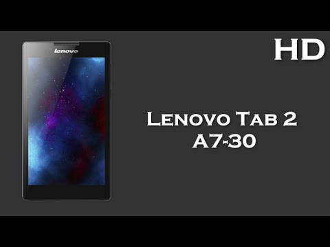 Lenovo Tab 2 A7-30 available with 7.0 Inch Display 3450mAh battery, 1GB RAM, Android 4.4