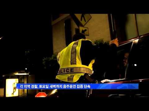 '싱코 데 마요' 음주운전 단속 강화 5.5.16  KBS America News