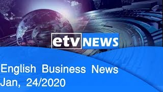 English Business News Jan, 24/2020 |etv