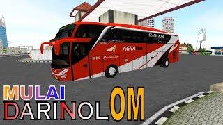 Bus Agra Mas SHD SCANIA Mulai Dari Nol BUSSID 2.4 | Game Simulator Android