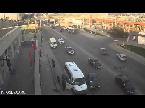 Авария 02 04 2014 в Севастополе