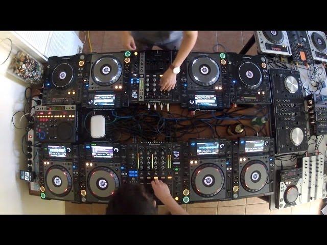 Cotts & Ravine 12 DECK MIX Back 2 Back (Electro Hard Dance Hardstyle Drumstep Hardcore)