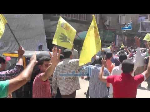 """هتاف """"يسقط حكم العسكر"""" يدوي بشوارع القاهرة"""