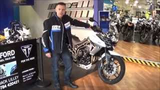5. Triumph Tiger XRx and XCx with Low Seat