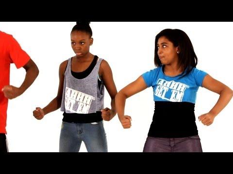 Элементы Хип-Хоп танца: Wu-Tang. Урок онлайн для детей.
