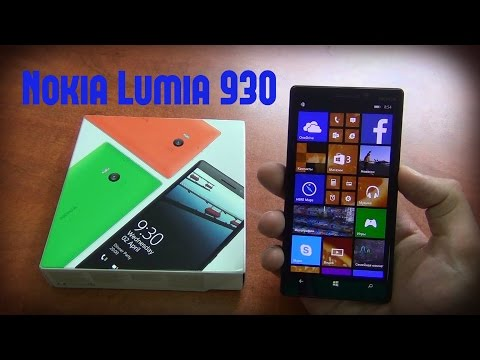 Nokia Lumia 930. Смартфон из Стали / Арстайл / (видео)