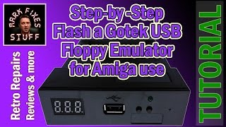 Replace Amiga Floppy Drive with a Gotek USB Floppy Emulator - ...
