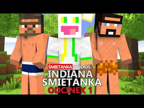 Minecraft - Indiana Śmietanka #1 - Jaskiniowcy