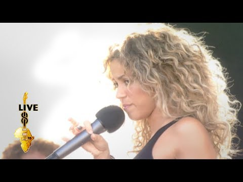 Shakira - Whenever, Wherever (Live 8 2005)