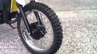 7. Suzuki JR80 mini bike