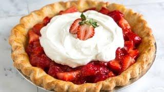 How To Make Homemade Strawberry Pie - Strawberry Pie Recipe