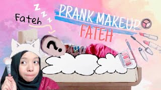 Video PRANK Ngisengin Fateh Pas Lagi Tidur - DI MAKEUP JELEK - MP3, 3GP, MP4, WEBM, AVI, FLV April 2019