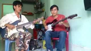 Giao Lưu Guitar trái tim nhân ái  cùng anh Hải mù hát rong