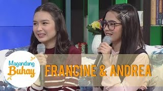 Video Magandang Buhay: Francine and Andrea share how they bond on and off cam MP3, 3GP, MP4, WEBM, AVI, FLV Februari 2019