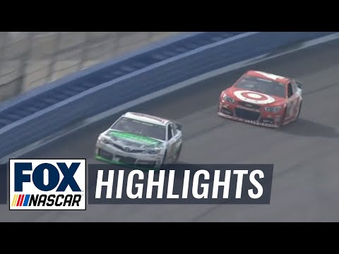 NASCAR News: Kyle Busch holds on in Fontana...