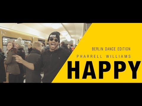 "Watch: Pharrell Williams ""Happy"" Berlin Dance Edition"
