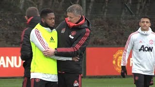 Download Video Manchester United Training Ahead Of Match Against Brighton MP3 3GP MP4
