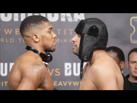 Joshua v Molina weigh-in