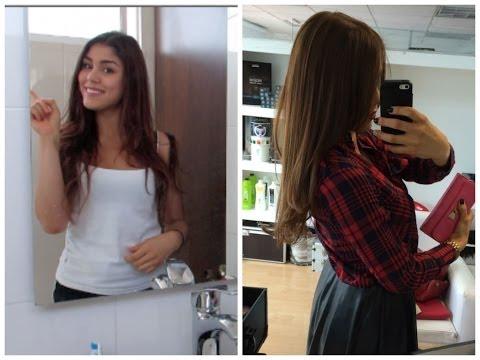 Como PINTO mi cabello en CASA + Styling