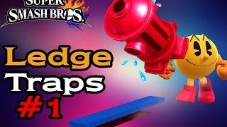 PAC-MAN – Ledge Traps  1 (Smash Wii U/3DS)