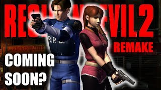 """Is Resident Evil 2 Remake Coming Soon?What exactly does """"soon"""" mean?Subscribe: https://goo.gl/HAvfDUIn an interview with Collider, Resident Evil Vendetta (CG Movie from 2017) producer Hiroyuki Kobayashi was asked about his upcoming projects and he dropped the name of Resident Evil 2 Remake as one of those upcoming projects. Many people believe he hinted at an earlier than expected release date for Resident Evil 2 Remake when he said it would be """"coming soon"""". But let's take a look at what """"soon"""" actually means and try to take a real look at what Kobayashi said.RESIDENT EVIL 2 REMAKESummary Of What We Know ► https://goo.gl/JNUyWYWhy Wasn't RE2 Remake At E3? ►  https://goo.gl/xd1yN4WHERESBARRY ON SOCIAL MEDIATwitter ► http://www.twitter.com/wheresbarryBFacebook ► http://goo.gl/nHTBQ9Instagram ►https://www.instagram.com/wheresbarrybMUSICI Knew a Guy by Kevin MacLeod is licensed under a Creative Commons Attribution license (https://creativecommons.org/licenses/by/4.0/)Source: http://incompetech.com/music/royalty-free/index.html?isrc=USUAN1100199Artist: http://incompetech.com/"""
