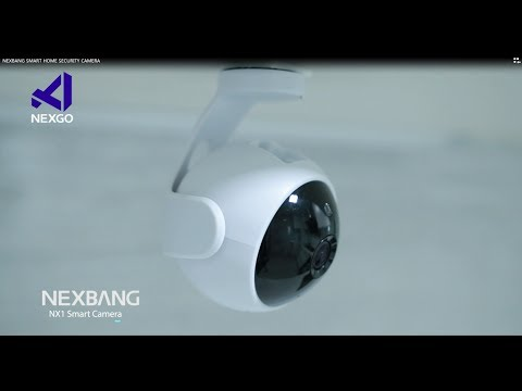 NEXBANG NX1 720p HD Video WIFI Security Camera System With Night Vision for Smart Home Indoor