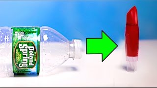 How To Make Makeup Out Of Water Bottles!