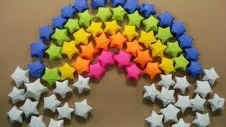 paper stars / origami stars tutorial - YouTube