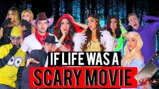 If Life was A Scary Movie! Halloween 2015   Niki and Gabi