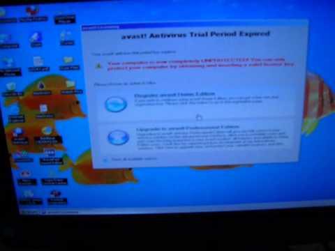 Windows XP Desktop frozen