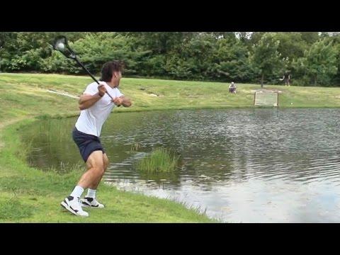 Lacrosse Trick Shots: Dude Perfect and Paul Rabil