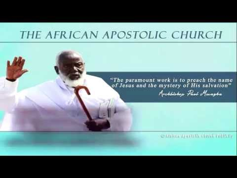 paul mwazha - The African Apostolic Church led by Archbishop Paul Mwazha invites you to its follow up gathering in Kotwa, Mtoko on 1 November 2014. See video for details.