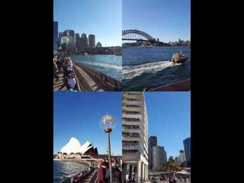Sydney top tourist destinations opera house   and harbour bridge circular quay