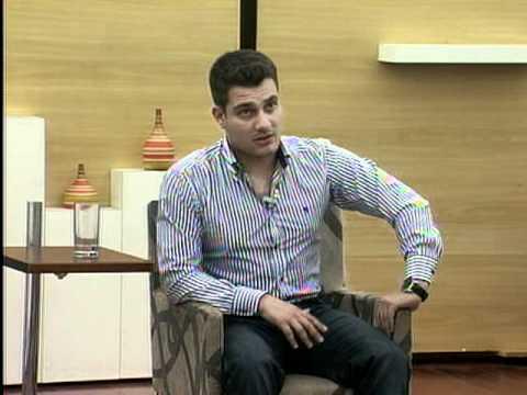Antonio Carlos Gomes - apresentador- entrevista: Paulo Paolillo no Programa Coletiva de Imprensa 2