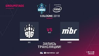 BIG vs MIBR - ESL One Cologne 2018 - map2 - de_overpass [GodMint, SSW]