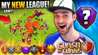 Video MY NEW LEAGUE RANK (+ BEST ARMY)! - Clash Of Clans MP3, 3GP, MP4, WEBM, AVI, FLV Agustus 2017