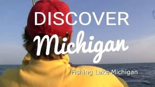 Grand Haven (MI) United States  City new picture : Fishing Lake Michigan-Muskegon to Grand Haven