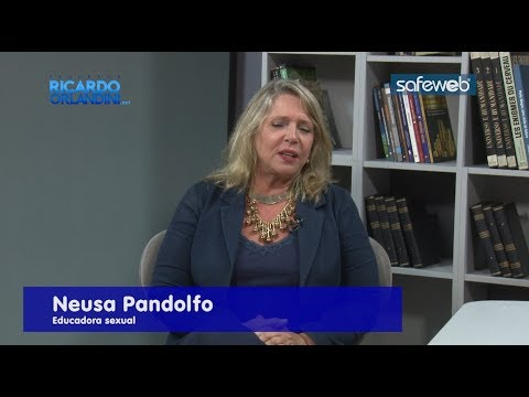 Ricardo Orlandini entrevista a educadora sexual Neusa Pandolfo,o médico dermatologista Fernando Guimarães e a bióloga Fabiana Ninov