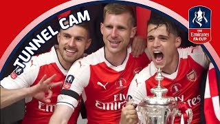 EXTENDED EMIRATES FA CUP FINAL TUNNELCAM! Arsenal v Chelsea 2017 Video