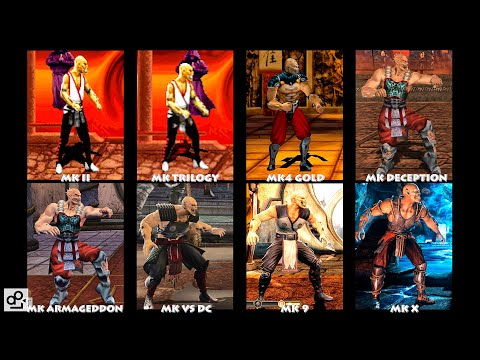Mortal Kombat BARAKA Graphic Evolution 1993-2015 | ARCADE DREAMCAST XBOX PC | PC ULTRA