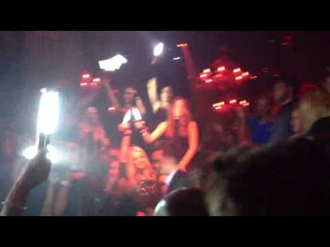 Paris Hilton birthday at Tao Las Vegas